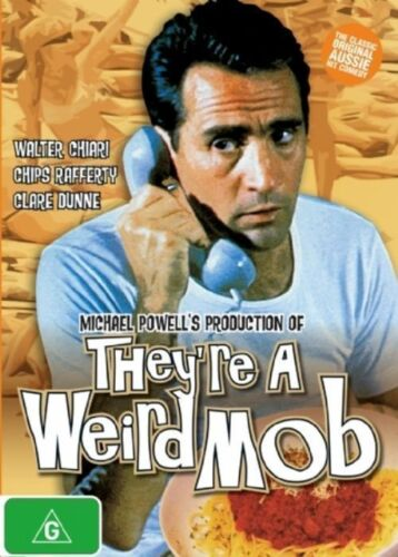 They're A Weird Mob DVD HIT 60's CLASSIC AUSTRALIAN COMEDY MOVIE BRAND NEW R4
