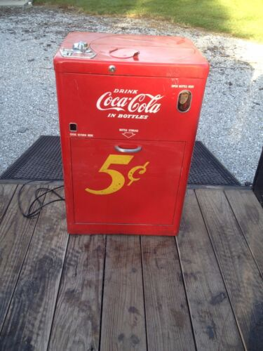 Vendo Coke Machine Antiques Us