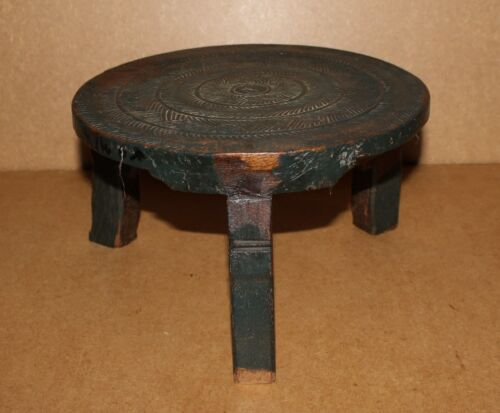 ETHIOPIA old african stool tabouret ancien africa afrika d'afrique stoel chaise