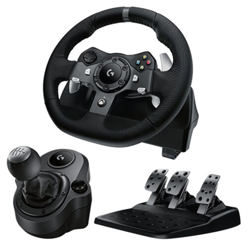 Logitech G920 Racing Wheel for Xbox One / PC + Driving Force Shifter NEW