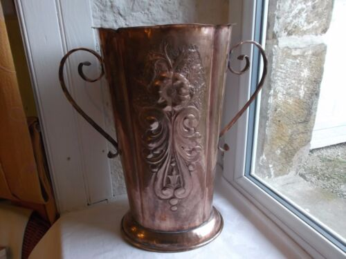 French copper large  jug / vase collection to any projects decoration