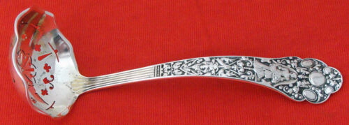 MEDICI OLD by Gorham Sterling Silver PIERECED SAUCE LADLE, Mono