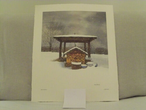 """Bob Timberlake """"Well at the Studio""""  Signed & numbered reduced price"""