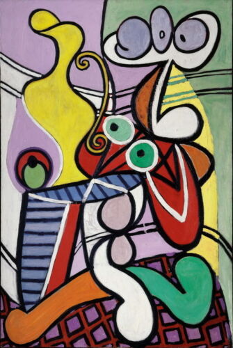 Pablo Picasso Untitled Giclee Canvas Print Paintings Poster Reproduction Copy
