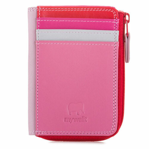 Mywalit  Genuine Leather 11cm Zippered Purse Wallet ID Holder Quality Design