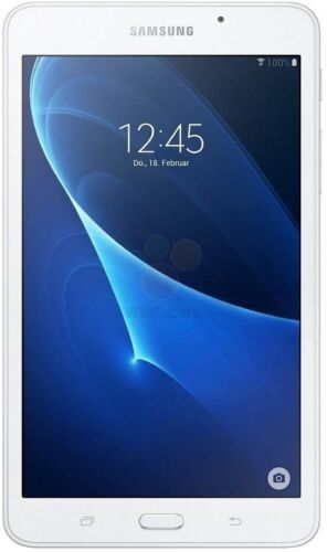 "Samsung SM-T280 Galaxy Tab A, 7"" (8GB) WiFi 1.3Ghz Quad Core Processor, White"