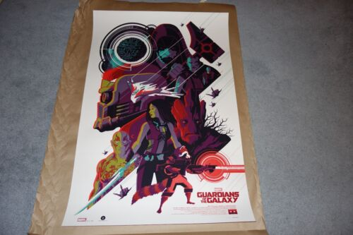 Tom Whalen Guardians of the Galaxy Variant Print