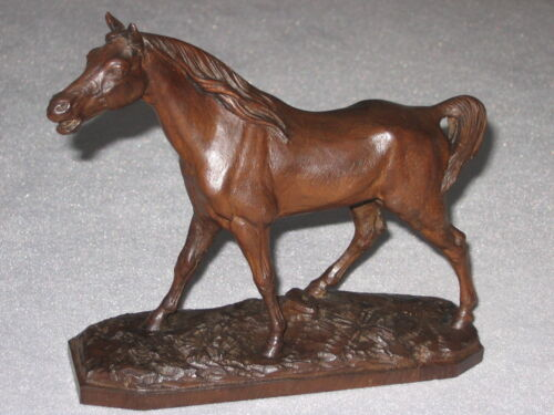 A circa 1900 Black Forest (Brienz) hand carved Horse