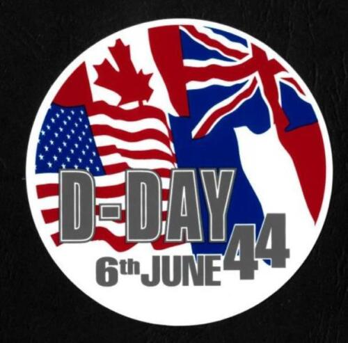 D DAY FLAGS
