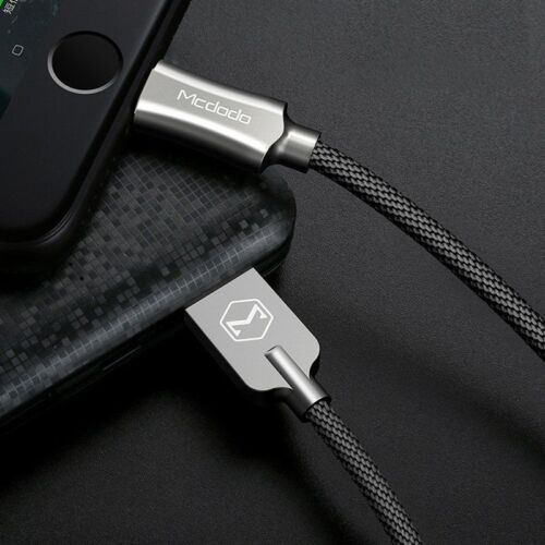 MCDODO Nylon Braided Sync Charge USB Data Cable for iPhone 8/X/7/6/5