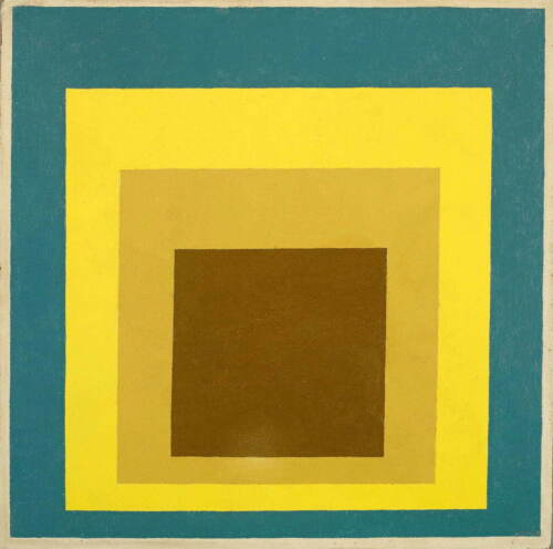 Josef Albers Homage To The Square Giclee Canvas Print Paintings Poster Reproduct