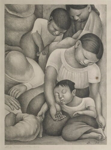 Diego Rivera The Dream Giclee Canvas Print Paintings Poster Reproduction Copy