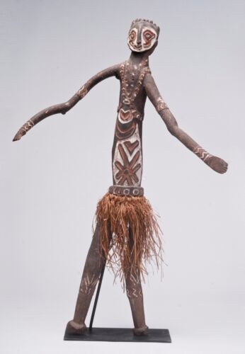 Papua New Guinea rare Kakame Imunu wooden antique statue figure Oceanic art 43""