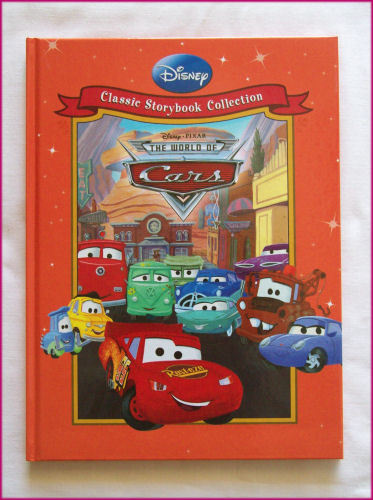 DISNEY CARS STORY BOOK - Classic Hardcover Lightning McQueen World of Cars NEW