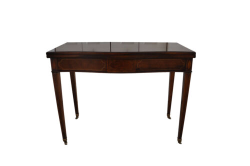 """Baker Furniture Inlayed """"All in One"""" Table - Sofa Table, Desk & Dining Table"""