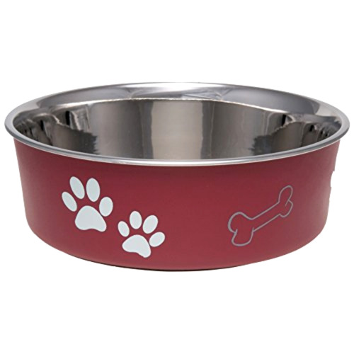 Small Pet Food Bowl, Loving Pets, Bella Dog Bowl, Stainless Steel Pet Bowls