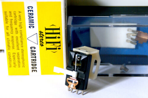 BSR SC12M Slim-line Cartridge With Needle NOS By FOX