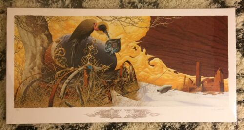 Aaron Horkey - Croatoan - Print Signed/#'d Ed Of 180 - Vacvvm