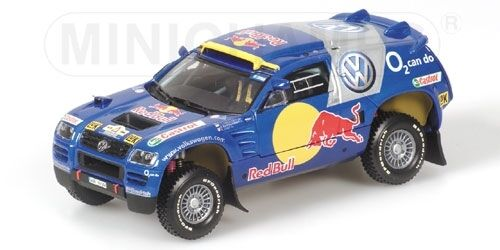 Volkswagen Race Touareg Essen Motorshow 2005 1:43 Model MINICHAMPS