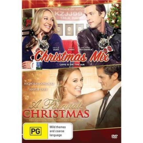 Christmas Mix / A Fairytale Christmas DVD 2-MOVIES XMAS Haylie Duff BRAND NEW R4
