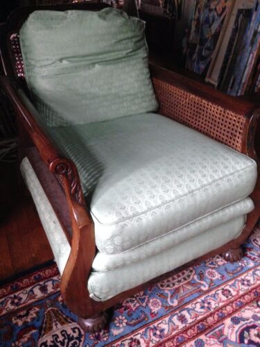 Antique BRITISH COLONIAL OR ANGLO-INDIAN chair,handmade Deco 1920's EUC