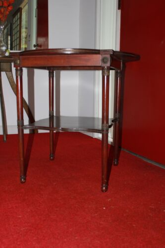 Vintage French Neoclassical Style, Bronze Ormolu Side Table