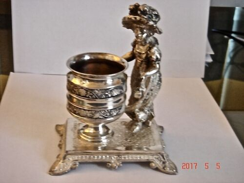 Antique James Tufts Kate Greenaway Toothpick/Match Holder