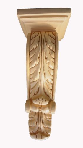 Pair of Large Acanthus Leaf Corbels