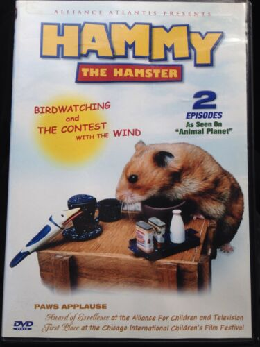 Hammy The Hamster 1 2, Birdwatching, The Contest With Wind Dvd, Aus Seller