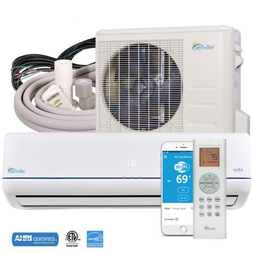 12000 Ductless Mini Split AC Heat Pump ENERGY STAR by Senville  <br/> Cold Climate Heat Pump (Up to -30C) • 7 Year Warranty
