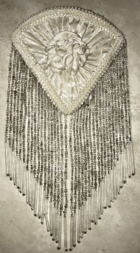 ANTIQUE VICTORIAN BEADED DRESS GARMENT ITEM