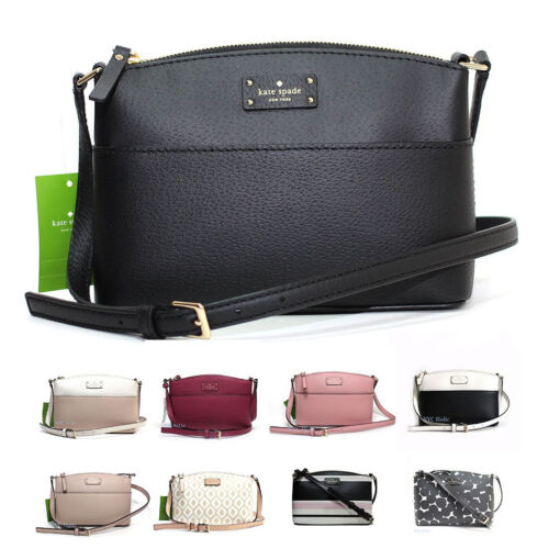 New Kate Spade Millie Grove Street Leather Crossbody Bag Shoulder Handbag NWT