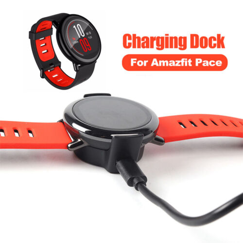 Charger USB Cradles Dock Charging Cable For Xiaomi Huami AMAZFIT Pace Watches