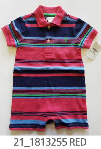 Polo Ralph Lauren Baby Toddler Clothing Romper 6/9/18/24 Months New w/ Tag #21