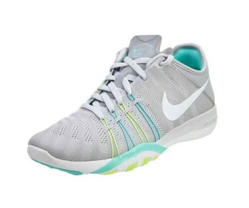 Nike Women's Free TR 6 Athletic Running Shoes Wolf Grey/Green/Blue/White