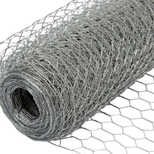 Chicken Wire   Galvanised   25mm & 50mm Hole Size   10mm, 25mm, 50mm Length