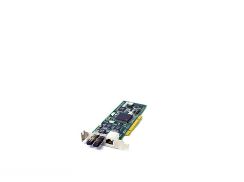 ALLIED TELESIS AT 2451FTX/ST 001 PCI ETHERNET FIBER NETWORK INTERFACE CARD