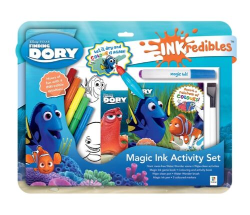 INKREDIBLES FINDING DORY MAGIC INK ACTIVITY SET. BRAND NEW.