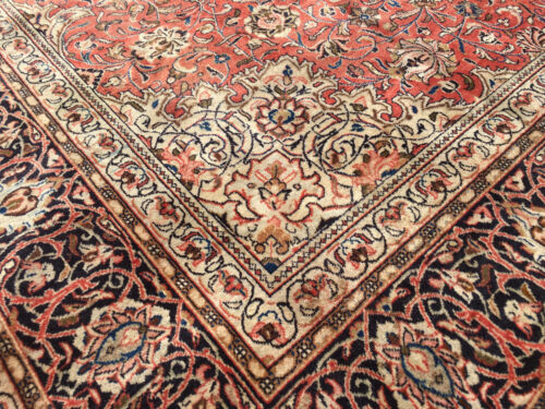 10x13 HAND KNOTTED WOVEN RUG PERSIAN IRAN WOOL RUGS 10 x 13 antique made 9 12 14