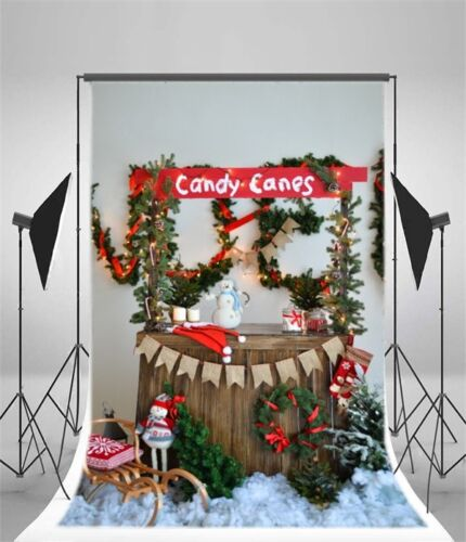 Christmas Photography Backgrounds 3x5ft Child Vinyl Photo Studio Backdrops Props