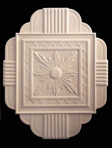 ART DECO PLASTER CEILING CENTRE/ROSE LARGE NEW