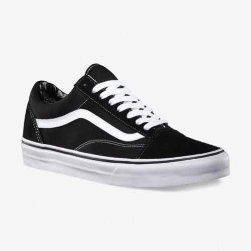 Vans Old Skool Skate Shoes Black/White All Sizes