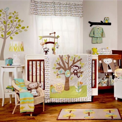 LOLLIE LIVING ANIMAL TREE COT QUILT. BRAND NEW.