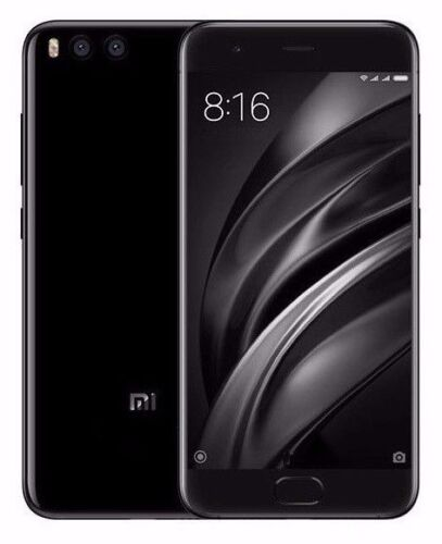 "Xiaomi Mi 6 64GB Black (FACTORY UNLOCKED) 5.15"" 6GB Ram Dual Sim Global model"