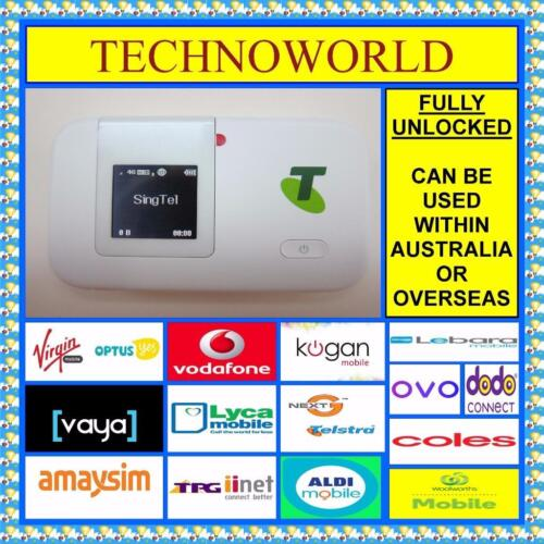 UNLOCKED HUAWEI E5372 4G WIFI MODEM+USE ALDI/TELSTRA/BOOST/LYCA/LEBARA/VODAFONE