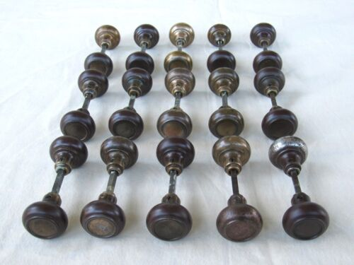 1 Pair of Restored Antique Door Knobs - Matching Sets Available