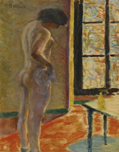 Bonnard Pierre Naked At The Window Canvas Print 16 x 20 #5431