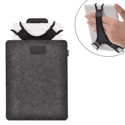 Protective Carrying Pouch Bag,plus Bonus Hand Strap Holder for Tablets E-Readers