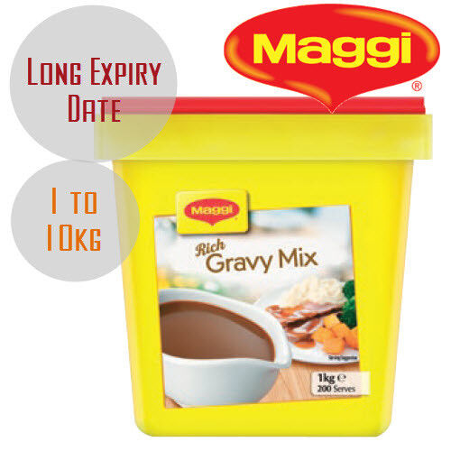 Maggi Classic Rich Gravy Mix 1kg 2kg ...7.5kg 10kg [Long Expiry Date] Made in NZ <br/> Cheapest Maggi Gravy on eBay w/ Latest Production Date
