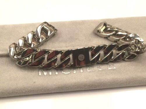 NEW MICHELE DECO MINI (ONLY) 12mm stainless steel chain bracelet - MS12BK235009